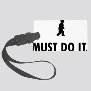 Midget-08-A Large Luggage Tag